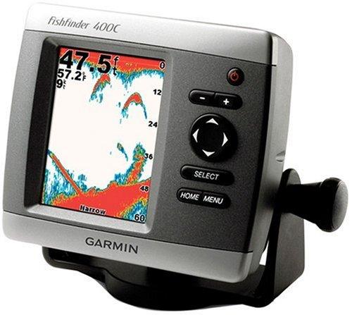 Garmin Fishfinder 400C with Dual Beam Transducer