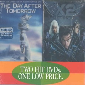 The Day After Tomorrow/X2: X-Men United