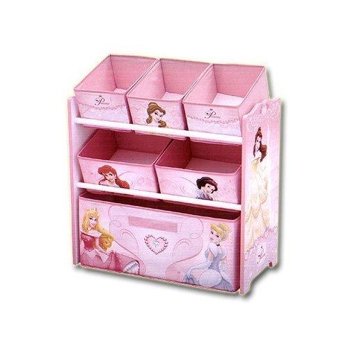 Disney Princess Multi Bin Toy Box Organizer