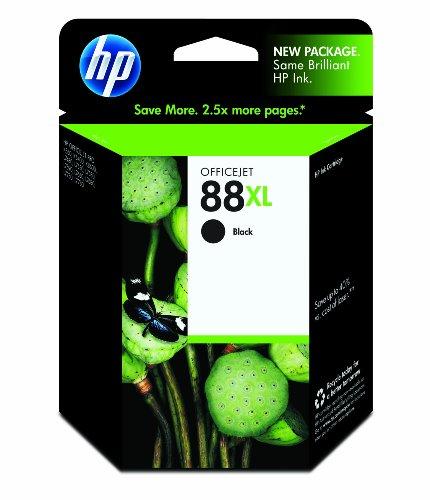 HP 88XL Black Officejet Ink Cartridge in Retail Windows