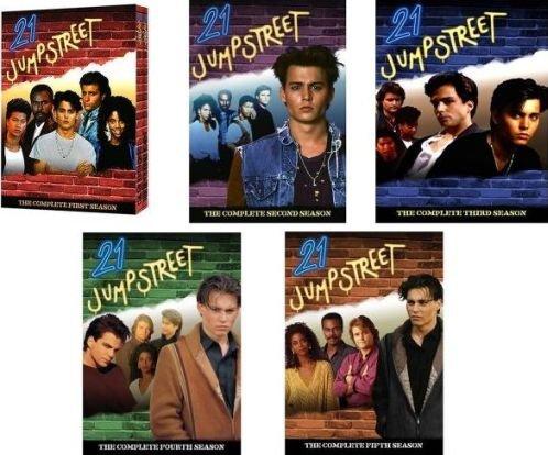 21 Jump Street Seasons 1 - 5 DVD Bundle Set