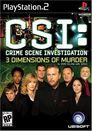 CSI: 3 Dimensions of Murder PS2