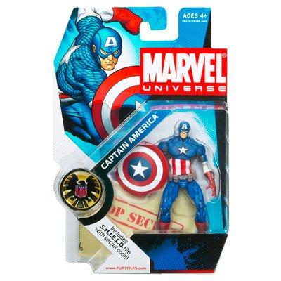"""Marvel Universe 3 3/4"""" Series 2 Action Figure Captain"""
