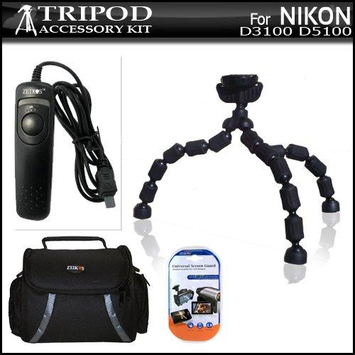 Tripod Bundle Kit For Nikon D3100 D5100 Digital SLR