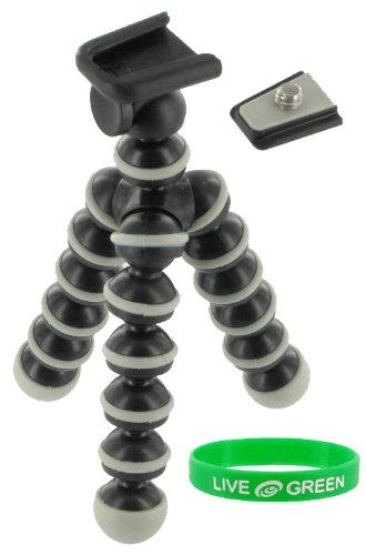 Flexible Tripod (Grey / Black) for Casio Exilim EX-Z35
