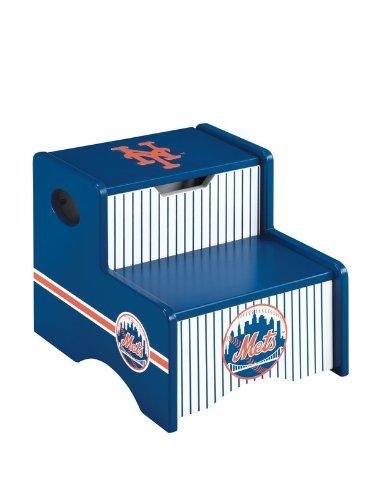 New York Mets Ny Kids Step Stool & Storage