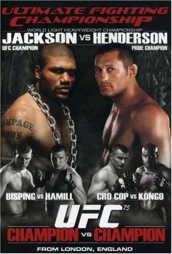 Ultimate Fighting Championship, Vol. 75: Champion vs.