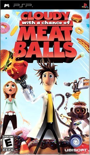Cloudy with a Chance of Meatballs Sony PSP