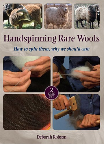 Handspinning Rare Wools: How to Spin Them, Why We