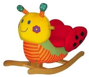 Charm Lola Lady Bug Toddler Rocker