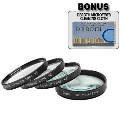 Nikon D40 D60 - 52mm +1 +2 +4 +10 Close-Up Macro