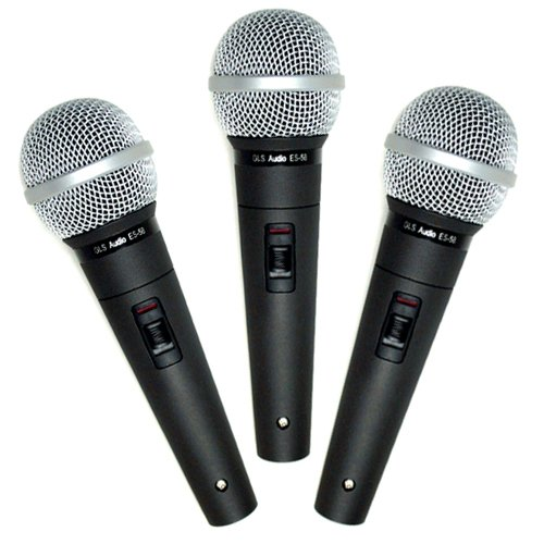 GLS Audio Professional Microphone ES-58-S - With
