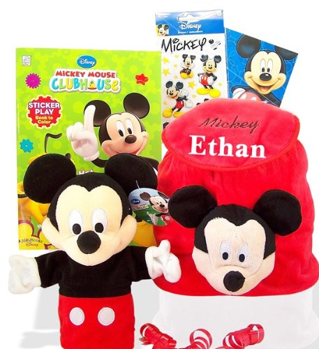 Mickey Mouse Clubhouse Hot Diggity Backpack Fun