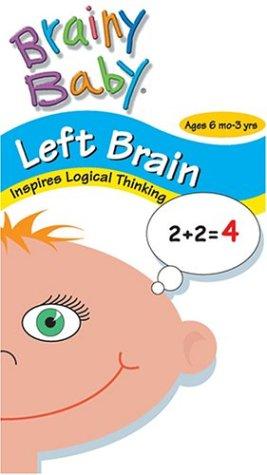 Brainy Baby - Left Brain VHS