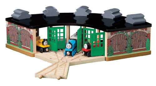 Thomas and Friends Wooden Railway - Roundhouse Pack