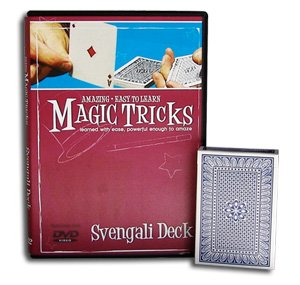 Amazing Easy to Learn Magic Tricks DVD: Svengali Deck