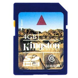 Kingston Digital, Inc. 4 GB Flash Memory Card Windows