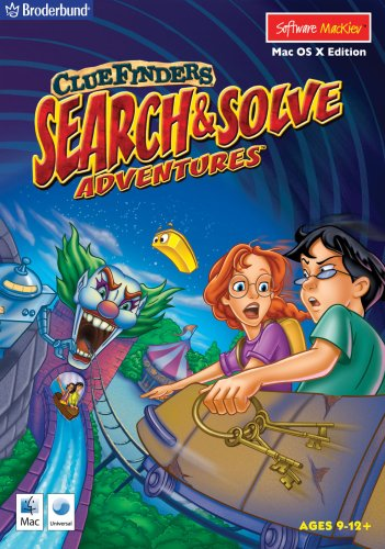 ClueFinders Search & Solve Adventures - OS X Mac OS X