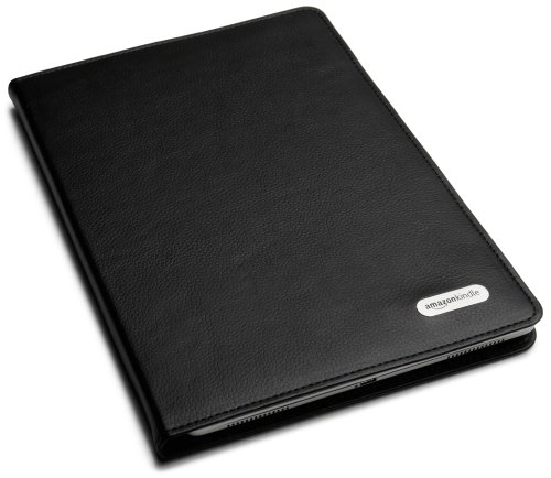"""Amazon Kindle DX Black Leather Cover (Fits 9.7"""""""