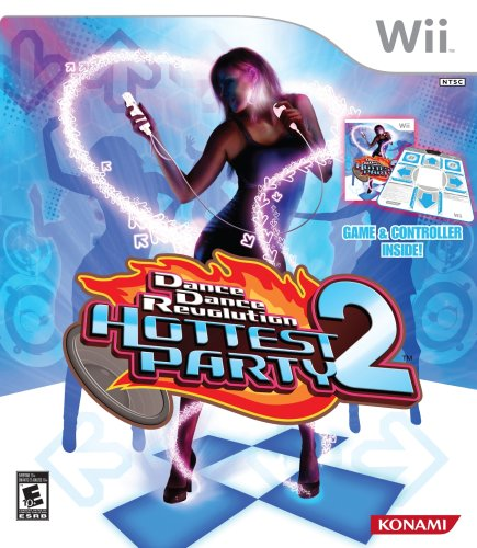 Dance Dance Revolution Hottest Party 2 with Dance Wii