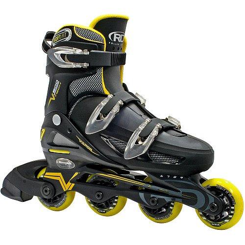 Roller Derby Men's Adjustable Inline Skate, Large