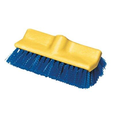 """Bi-Level Deck Scrub Brush, Polypropylene Fibers, 10"""""""