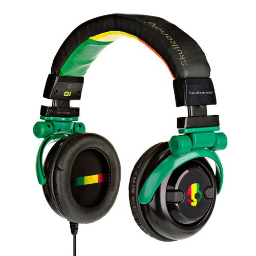 Skullcandy G.I. Stereo Headphones S6GICZ-058 (Rasta)
