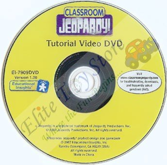Classroom Jeopardy - Teacher Training DVD