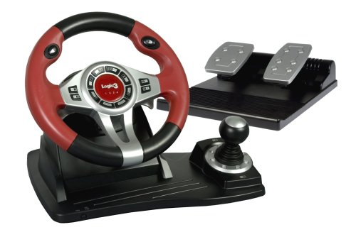PC/PS2/PS3 TopDrive GT Wheel w/ Pedals