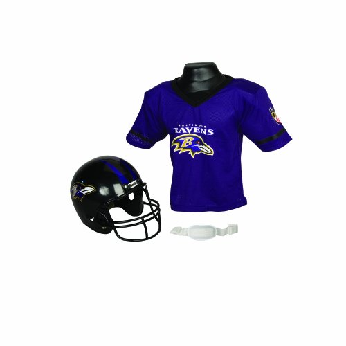 Franklin Sports NFL Baltimore Ravens Helmet and Jersey