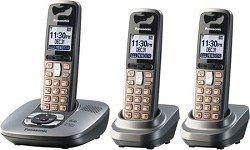 Panasonic Dect 6.0 Dark Grey Cordless Phone with