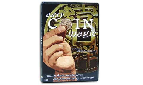 Easy Coin Magic DVD - You Can Be a Stunning Coin