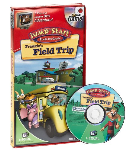Jump Start Pre-K - 1st Grade DVD Game: Frankie's Field