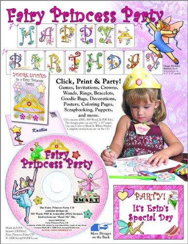ScrapSMART - Fairy Princess Party Kit - Jpeg, PDF, and
