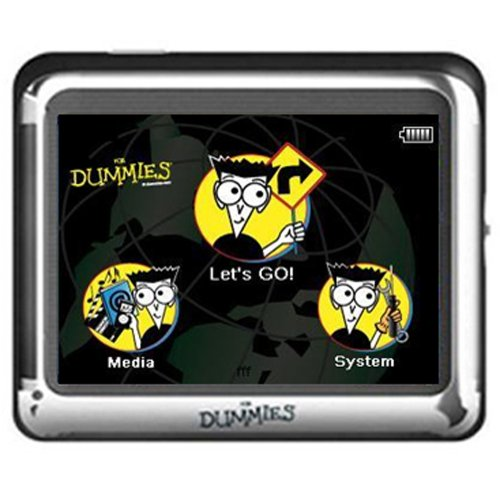 GPS Navigation For Dummies FD-350 3.5-Inch Portable