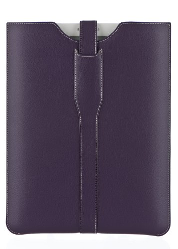 """M-Edge Page Leather Kindle DX Sleeve (Fits 9.7"""""""
