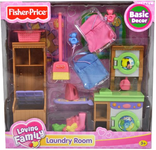 Fisher Price Year 2005 Loving Family Dollhouse Basic