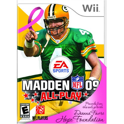 Madden NFL 09 Favre Hope Foundation Edition for Wii