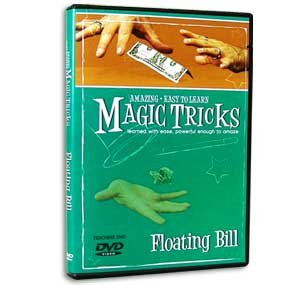 Amazing Easy To Learn Magic Tricks Floating Bill DVD