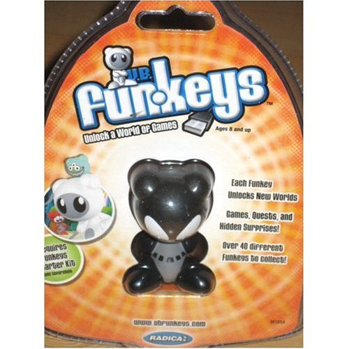 Xener - Black & Grey - UB Funkeys