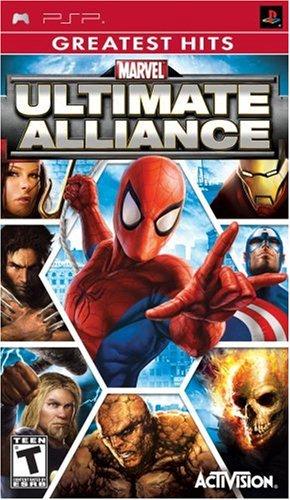 Marvel Ultimate Alliance Sony PSP