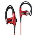 PowerBeats Sport Headphones - In-Ear w/ Sport Hook - Red by Monster