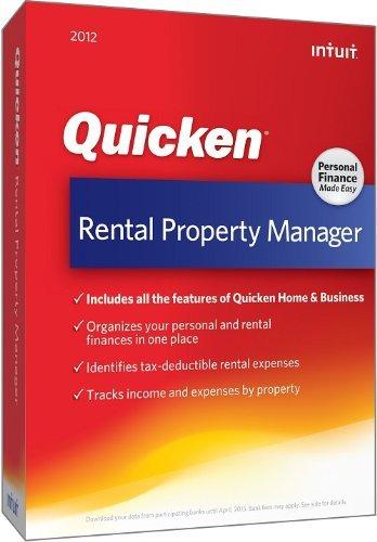 Intuit Quicken Rental Property Manager v2012