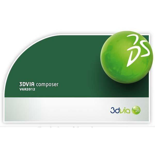 DS 3DVIA Composer / Dassault Systemes 3DVIA Composer V6R2012 HF3