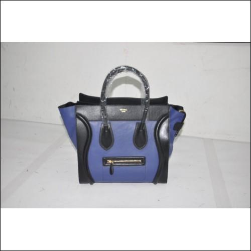 New Celine Boston Tri-Color Tote Bag 78185