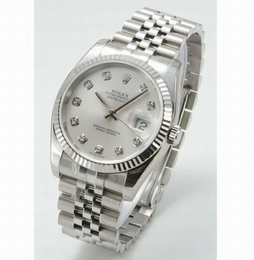lovers' Automatic ROLEX watch mens watch wristwatche white face