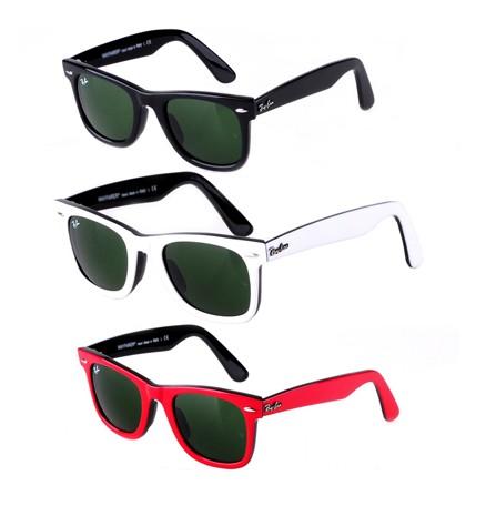 Rayban ray ban womens mens 2140 wayfare sunglass sunglasses new