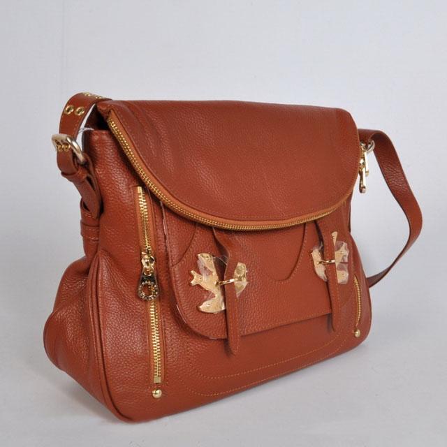 Marc By Marc Jacob Bag birds Peace Dove shoulder bag purse brown tan