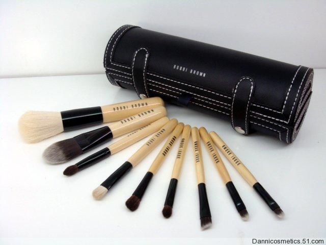 9pcs bobbi brown brushes brush womens girls make up makeup cosmetics