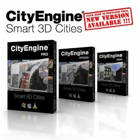Esri CityEngine Advanced v2011.2.Build.120125 x64 full version